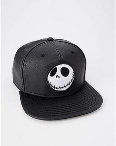 8e518fe97f0 Jack Skellington Snapback Hat - The Nightmare Before Christmas - Spencer s