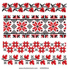 ukrainian embroidery flower
