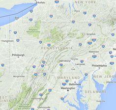 List of Universities in Pennsylvania | Map of Pennsylvania Colleges and Universities