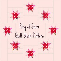 Ring of Stars quilt pattern