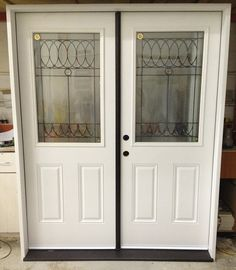 34 RHI Double Entry Door System Factory Painted Steel Insulated