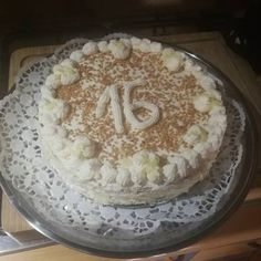 Somlói torta Pie, Food, Torte, Cake, Fruit Cakes, Essen, Pies, Meals, Yemek