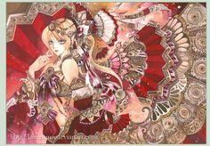 watercolor manga-inspired art Anime Art Girl, Manga Art, Manga Anime, Manga Watercolor, Japanese Illustration, Illustration Styles, Illustrations, Epic Art, Manga Characters