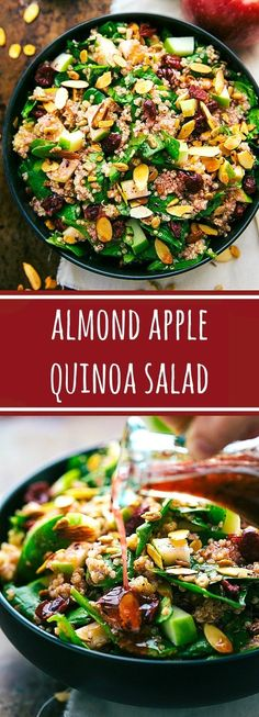 Healthy Salads, Healthy Eating, Healthy Food, Whole Food Recipes, Cooking Recipes, Apple Recipes, Cooking Tips, Slow Cooking, Sweet Recipes
