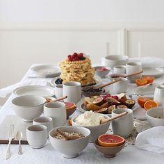 Breakfast anyone? #edblad #edbladliving