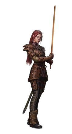 DnD female clerics, rogues and rangers - inspirational - Album on Imgur