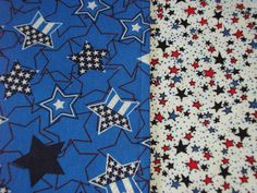 July 4th Table Runner Stars & Glitter Padded Reversible Red & Blue Stars on White.  Show off you patriotic side!  Use this runner for the 4th &/or all summer.