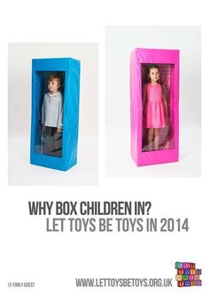 Don't box children in - let toys be toys