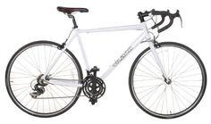 WANT This road bike  Vilano Aluminum Road Bike 21 Speed Shimano, White, 54cm Medium Vilano,http://www.amazon.com/dp/B00595BNPM/ref=cm_sw_r_pi_dp_tEdAsb1B6NS0MQ81