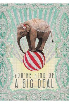 PAPAYA! Art Big Deal 5x7 Card - Greeting Cards *NEW* - Cards & Paper - SHOP