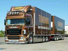 Scania truck: Tonerud operator
