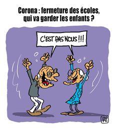 Funny Cartoons For Kids, Funny Cartoon Memes, Funny Cartoon Pictures, Cartoon Kids, Haha Funny, Funny Kids, Funny Jokes, Funny French, Image Fun