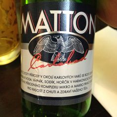 Perhaps some of te tastiest designer water on Earth, Mattoni is a product of Karlovy Vary (in the Czech Republic). Available continuously since 1873, it is one of the great unsung reasons to visit CZ.