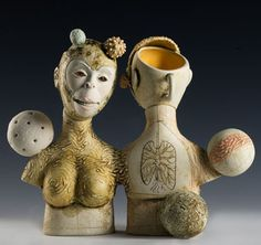clay sculpture by Liza  Clague
