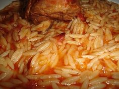 Authentic Greek Recipes: Greek Youvetsi With Lamb