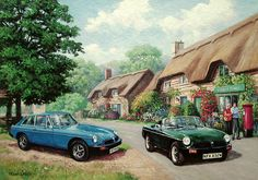 MGB GT and Roadster
