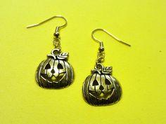 Jack-o-Lantern Earrings! Only $8! Nickel free hooks! Tree Branches, Lantern, Hooks, Art Pieces, Drop Earrings, Enchanted, Gifts, Free, Jewelry