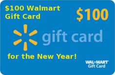 Ring in 2013 with $100 Walmart Gift Card #giveaway!