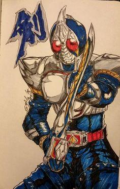 Kamen Rider Blade by Sato