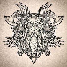 odin tattoo design & odin tattoo + odin tattoo vikings + odin tattoo sleeve + odin tattoo symbols + odin tattoo design + odin tattoo vikings norse mythology + odin tattoo for women + odin tattoo mythology Norse Mythology Tattoo, Norse Tattoo, Celtic Tattoos, Viking Tattoos, Axe Tattoo, Viking Tattoo Symbols, Celtic Raven Tattoo, Armor Tattoo, Wiccan Tattoos