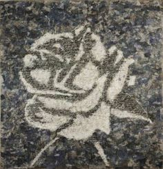 """Saatchi Art Artist Gian Luigi Delpin; Painting, """"a rose is a rose is a rose"""" #art"""
