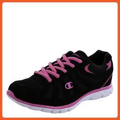 da8f721b9f3b3e Champion Women s Black Pink Solstyce Sport Runner 5.5 M - Athletic shoes  for women (