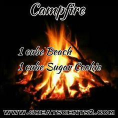 Here is another one: campfire courtesy of greatscents2.com   I imagine marshmallows roasting over a bonfire on a cool summer evening....ahh