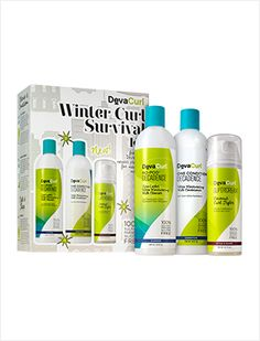 Keep your curls healthy and frizz-free this winter with the #DevaCurl Winter Curl Survival Kit from www.hairbypatrickmcguire