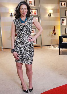 Leopard Print Dress by H & M. Cute, almost anything Stacy wears I love
