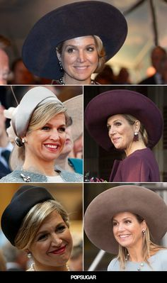 Pin for Later: Photographic Evidence That Queen Máxima of the Netherlands's Hat Game Is Strong