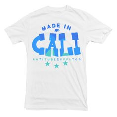 Cali Tee White, $18.50, now featured on Fab.