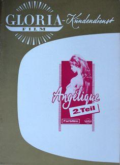 Angelique 2. Teil Werberatschlag Gloria Merveilleuse Michele Mercier R. Hossein | eBay
