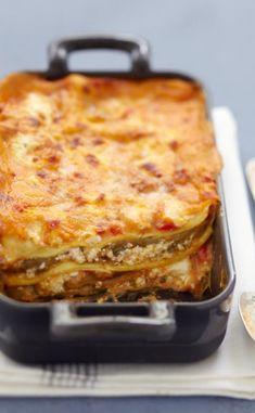 Lasagnes végétariennes aux aubergines