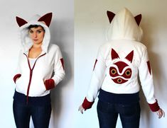 Embrace your inner Totoro with this new line of costume hoodies