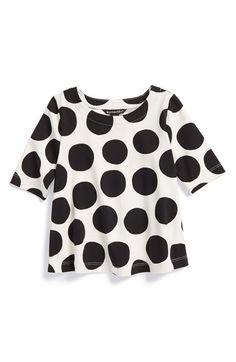Marimekko 'Sade' Polka Dot Top (Baby Girls) available at #Nordstrom