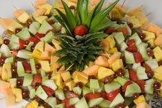 fruit tray baby shower