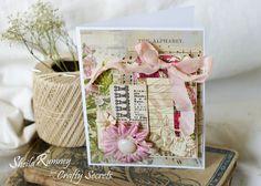 Sew Thoughtful Card Crafty Secrets www.sheilarumney.com