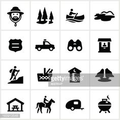 parks and recration icon black and white - Google Search