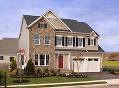 Avendale in Bristow, VA - Yates model house plan. 4-5 Bedrooms, 2.5-3.5 Bathrooms. Priced from $471990.