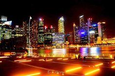 Ngắm nhìn vẻ đẹp của Sài Gòn trong đêm