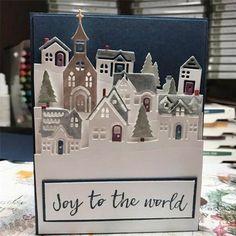 Dovecraft Noël meurt-de Noël Tag Pour Cartes et Artisanat