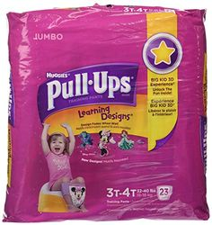 Huggies Pull-Ups Learning Designs Training Pants, Girls, 3T-4T, 23 ct Review