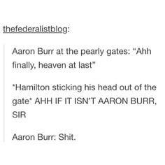 Haha. Hamilton.