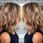 Layered-Wavy-Lob-Hairstyle-Blonde-and-Light-Brown-Balayage
