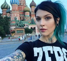 """9,592 Likes, 44 Comments - Victoria van Violence (@victoriavanviolence) on Instagram: """"Hello St. Petersburg. And because I am fucking tired and unable to take a picture now, here is one…"""""""