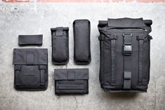 Mission Workshop Arkiv System - Weatherproof bags built to take a beating in any configuration