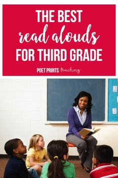 These are my favorite read aloud novels and picture books for third grade.  Some of these make us roll-on-the-floor laughing, and others are the perfect solution for the very chatty class.