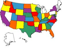 USA MAP TO Track our travels
