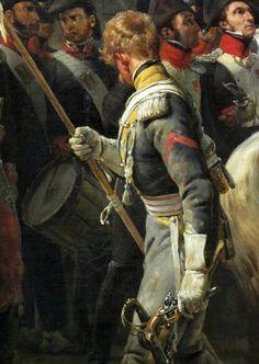 https://flic.kr/p/dEKMVJ | Horace Vernet, 1789-1863, La Barrière de Clichy, 1820, dét., musée du Louvre, Paris