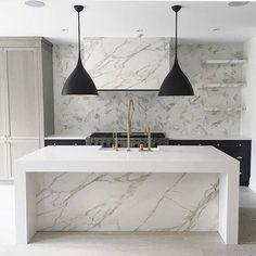 Modern Home Decor Kitchen Kitchen Cabinet Design, Modern Kitchen Design, Interior Design Kitchen, Kitchen Dinning, Home Decor Kitchen, Home Kitchens, Kitchen Office, Kitchen Ideas, Layout Design